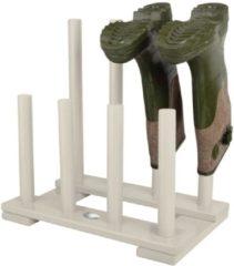 Witte Laarzenrek - Wit - Vurenhout - Esschert Design