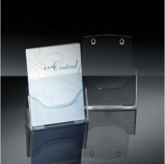 Folderhouder Sigel tafelmodel A4 transparant acryl 1 vak