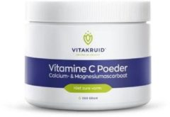 Vitakruid Vitacruid / Vitamin C Powder Calcium & Magnesium Ascorbate - 260 Grams