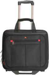 Zwarte Enrico Benetti Cornell business trolley 15.6 inch black