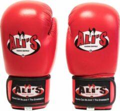 Ali's fightgear bokshandschoenen bg sp rood - 14 oz - M/L