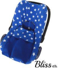 Bliss Babydeken - Wikkeldeken - Omslagdoek - Wiegdeken - Dekentje - Kobaltblauw