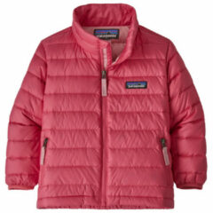 Patagonia - Baby Down Sweater - Donzen jack maat 3T, roze/rood