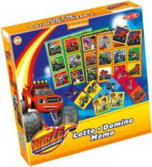 Tactic 3-in-1 (Lotto Domino Memo) Blaze (Benelux)