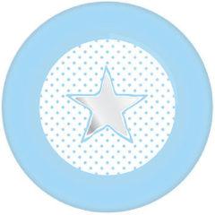 Blauwe Ootje Kadootje Bordjes Baby Boy Blauw (8ST)
