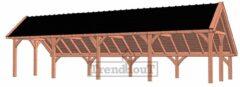 Van Kooten Tuin en Buitenleven Kapschuur De Hoeve XL 1217x440 cm