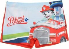 Rode Zwembroek Paw Patrol maat 98