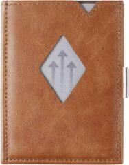 Zandkleurige Exentri Leather Multi Wallet sand Dames portemonnee