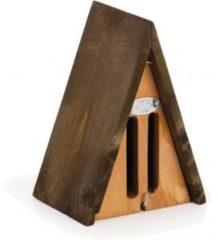 Bruine Esschert design Beeztees Houten Vlinderkastje Driehoek