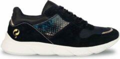 Q1905-Quick Dames Sneaker Hillegom - Donkerblauw