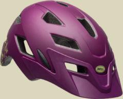 Bell Sidetrack Youth Kinder/Jugend Fahrradhelm Kopfumfang Unisize 50-57 cm mat plum pear