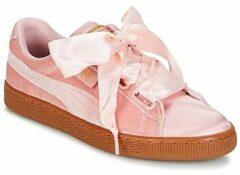Puma - 366731 - Sneaker laag sportief - Dames - Maat 38,5 - Roze - 02 -Silver Pink/Gold