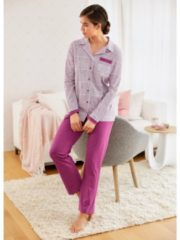 Schlafanzug Harmony cyclam/ecru