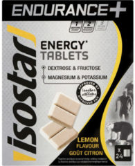 Isostar Energietabletten Energy Tablets citroen 24x4g