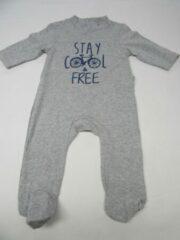 Wiplala , pyjama , grijst , stay cool & free 18maand 86