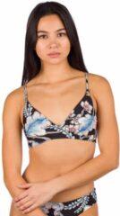 O'Neill - Women's PW Baay Top - Bikinitop maat 44, grijs/zwart