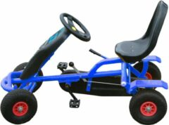 GO Cart Junior Go-Cart - Skelter - Doortrapper - Blauw