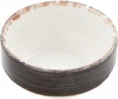 Antraciet-grijze Gural Ent color Set 6 Slakom 12cm 38cl Antraciet 617340