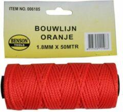 Hofftech Touw Bouwlijn Oranje 1.8 X 50 meter