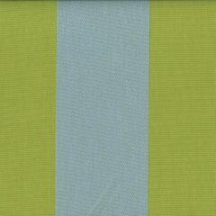 Acrisol Malibu Pistacho Celeste 1026 gestreept groen blauw stof per meter buitenstoffen, tuinkussens, palletkussens