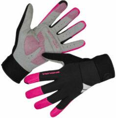 Endura - Women's Damen Windchill Handschuh - Handschoenen maat L, zwart/grijs
