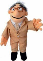 Beige Living Puppets handpop Wiwaldi collectie Opi Flönz 60cm