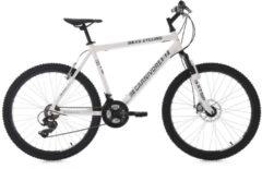 KS Cycling Hardtail-Mountainbike Herren, 26 Zoll, 21 Gang- SHIMANO Tourney, »Carnivore«