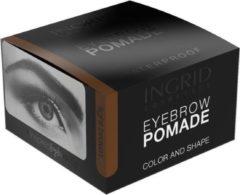 INGRID Cosmetics Eyebrow Pomade Light Brown #201 Waterproof