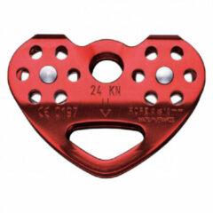 Rode Petzl - Tandem - Haspel voor touw rood