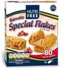 Nt food Nutrifree barrette special flakes con frutti rossi 120 g
