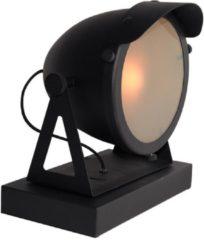 Budget Design Store LABEL51 - Tafellamp Cap - Zwart - Metaal - 28x23x30,5 cm