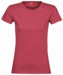 Bordeauxrode T-shirt Korte Mouw BOTD MATILDA