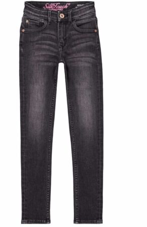 Afbeelding van Vingino! Jongens Lange Broek - Maat 134 - Donkergrijs - Jeans