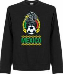 Zwarte Retake Mexico Crew Neck Sweater - XL