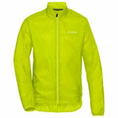 Vaude - Air Jacket III - Fietsjack maat S, groen/geel