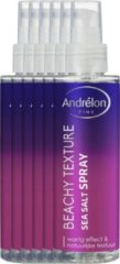 Andrélon Pink Collection Haarspray Beachy Texture Sea Salt - 6 x 150 ml - Voordeelverpakking