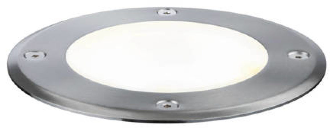Afbeelding van Verlichtingssysteem Plug&Shine LED-buiteninbouwlamp LED 6 W Warm-wit Paulmann Plug&Shine 93907 Zilver