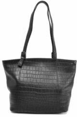 Zwarte Berba Shopper Laguna 805-313 Black