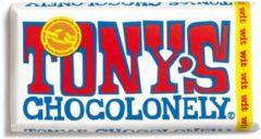 Tony's Chocolonely Wit Chocolade Reep - 180 gram
