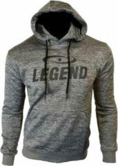 Grijze Legend Sports Luxury Unisex Sweater Maat S