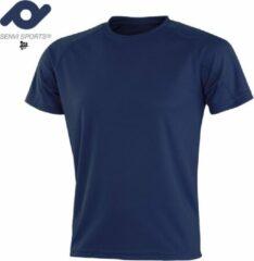 Senvi Sports Performance T-Shirt - Blauw - XS - Unisex