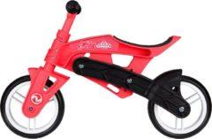 Nijdam Loopfiets Met 2 Wielen Loopfiets Verstelbaar N Rider 10 Inch Junior Roze