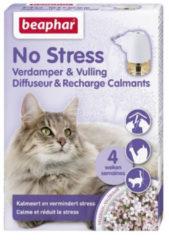 Beaphar No Stress Verdamper Met Vulling Kat - Anti stressmiddel - 30 ml