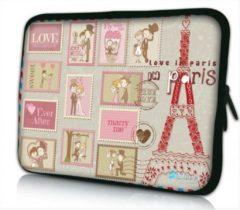Roze Sleevy 10 laptop/tablet hoes Paris Marry me - tabletsleeve - tablet sleeve - ipad sleeve