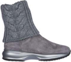 Grigio Hogan Stivaletti stivali donna in camoscio interactive