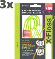 Idontix X-Floss - 3 x 30 Stuks - Voordeelverpakking