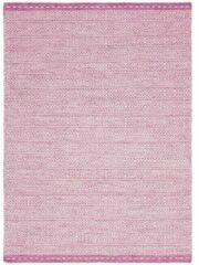 Eazy Living Easy Living - Knox-Pink Vloerkleed - 200x290 cm - Rechthoekig - Laagpolig Tapijt - Retro - Roze, Wit