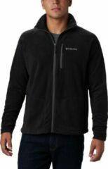 Zwarte Columbia Fast Trek Ii Full Zip Fleece Outdoorvest Heren - Black - Maat XL