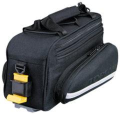 Zwarte Basily Basil Miles Top Case - Bagagedragertas - 7l - Zwart slate
