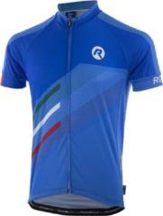 Blauwe Rogelli Team 2.0 Fietsshirt - Heren - Korte mouwen - Maat 2XL - Azzurro